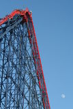 The Big One  Rollercoaster At Blackpool Pleasure Beach. Stock Photography