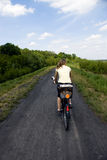 The Biking Stock Photo