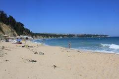 The Black Sea Seaside At Obzor, Bulgaria Royalty Free Stock Photo