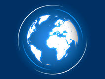 The Blue Earth Royalty Free Stock Photo