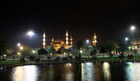 The Blue Mosque In Istanbul. Royalty Free Stock Images