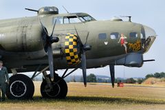 Free The Boeing B-17 Flying Fortress Is A Four-engine Heavy Bomber Developed In The 1930s For The United States Army Air Corps Royalty Free Stock Photos - 123581348