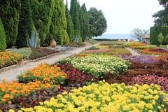 The Botanic Garden In Balchik, Bulgaria Royalty Free Stock Photos