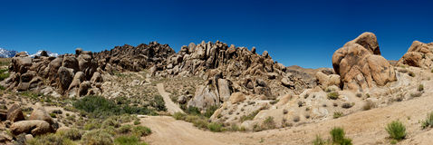 The Boulders Of Alabama Hills Royalty Free Stock Image