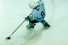 Free The Boys Are Playing Hockey Royalty Free Stock Photos - 50338458