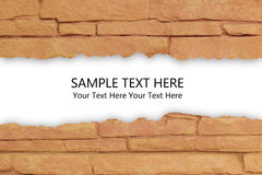 The Brick Background Stock Photography