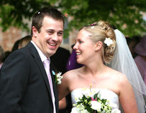 Free The Bride And Groom Stock Image - 422601