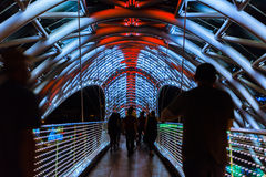 Free The Bridge Of Peace Is A Bow-shaped Pedestrian Bridge, A Steal A Royalty Free Stock Photography - 98522787