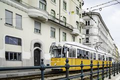 Free The Budapest Tram Network Is Part Of The Mass Transit System Of Budapest, The Capital Of Hungary Stock Photos - 154630363