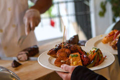 Free The Buffet Stock Photography - 54451232