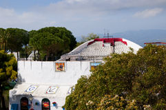 The Bullring Of Mijas On The Costa Del Sol Andalucia, Spain Stock Images