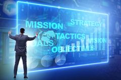 Free The Businessman In Strategic Planning Concept Stock Images - 122953074