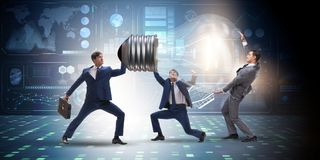 Free The Businessmen In Bright Idea Concept Royalty Free Stock Photo - 101190495