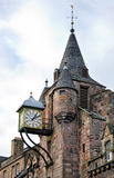 The Canongate Tolbooth S Clock, Royal Mile, Edinburgh Stock Photo
