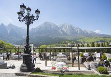 The Cantacuzino Palace In Romania Stock Images
