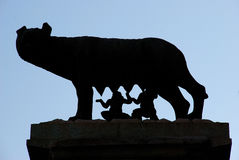 The Capitoline Wolf - Rome Royalty Free Stock Photography