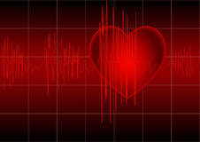 Free The Cardiogram Stock Image - 14871431
