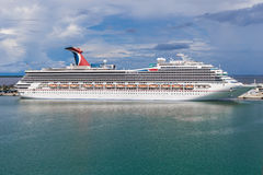 The Carnival Cruise Ship Liberty Royalty Free Stock Photo