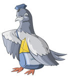 The Carrier Pigeon Stock Photos