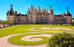 The Castle Chambord In The Loire Valley France. Built In 1519-1547. Stock Photos