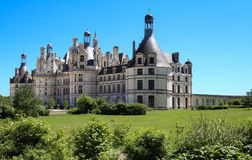 The Castle Chambord In The Loire Valley France. Built In 1519-1547.