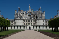 The Castle Chambord In The Loire Valley , France. Built In 1519-1547. Royalty Free Stock Image