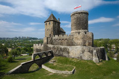 The Castle In Bedzin, Poland Royalty Free Stock Photos