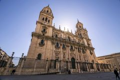 Free The Cathedral Of The Holy Church In Jaen, Also Called Assumption Of The Virgin Cathedral, Take In Jaen, Spain Royalty Free Stock Photos - 70895448