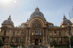 Free The CEC Palace In Bucharest. Royalty Free Stock Photography - 126128517