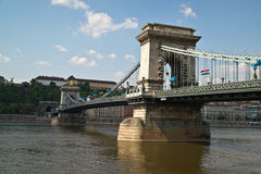 The Chain Bridge Royalty Free Stock Photo