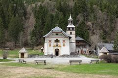 Free The Chapel Notre Dame De La Gorge Royalty Free Stock Image - 103646656