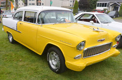 The Chevrolet Bel Air Royalty Free Stock Photography