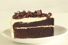 The Chocolate Cake Stock Images