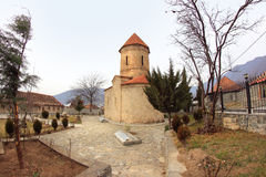Free The Church In Kish Village, Azerbaijan Royalty Free Stock Photo - 66023845