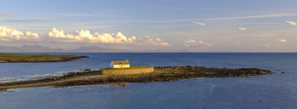 `The Church In The Sea` At Porth Cwyfan, Anglesey Stock Photography