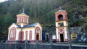 Free The Church Of St. John The Baptist In Serbia In The Area Of Mokra Gora Eight Railway Royalty Free Stock Image - 104375076