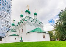 The Church Of St. Simeon On Cook Street. Moscow Royalty Free Stock Images
