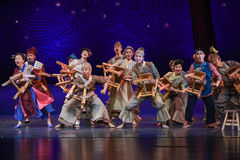 "The Circus Came To The Village-Dance Drama ""The Dream Of Maritime Silk Road"" Stock Photos"