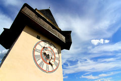 Free The Clock Tower In Graz Stock Images - 30586734
