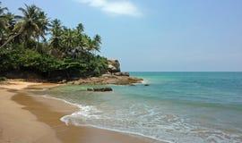 Free The Coastline Of Indian Ocean In Sri Lanka Stock Photo - 159755990