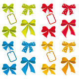 The Collection Of Ribbons Royalty Free Stock Photography