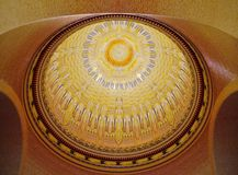 The Colorful Decorated With Pattern Dome Royalty Free Stock Image
