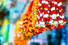 The Colorful Street Stock Photography