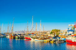 The Colorful Yachts