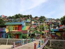 Free The Colourful Or `rainbow` Village Kampung Pelangi In Semarang Royalty Free Stock Images - 118503569