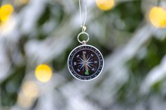 Free The Compass  Royalty Free Stock Photo - 135112295