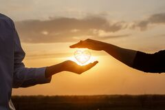 Free The Concept Of A Love Relationship Between People Stock Photography - 178593002
