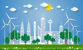 Free The Concept Of City Go Green,Green City Concept. Vector  Royalty Free Stock Photos - 77193168