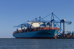 The Container Ship Royalty Free Stock Photo
