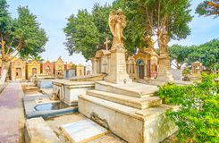 Free The Coptic Cemetery In Cairo, Egypt Royalty Free Stock Photography - 126020197